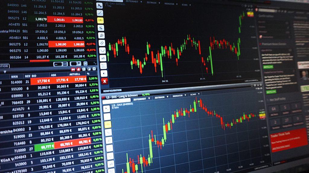 generic trading chart